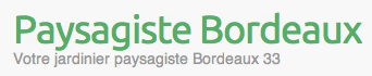 Tarif paysagiste bordeaux for Tarif tonte gazon par paysagiste